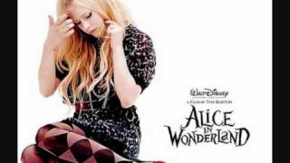 Avril Lavigne, Underground (ALICE IN WONDERLAND) instrumental with lyrics.