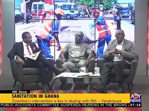 Sanitation In Ghana - AM Talk on JoyNews (22-2-18)