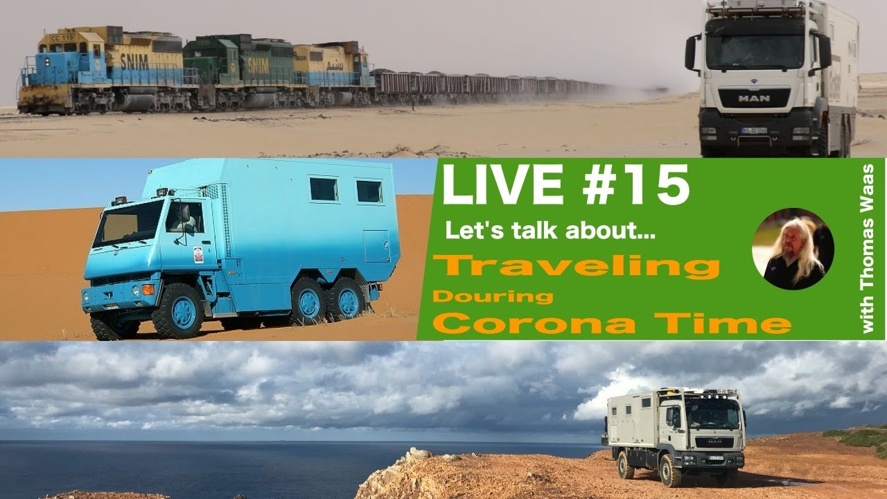 LIVE #15: let's talk about... Traveling during Corona Time