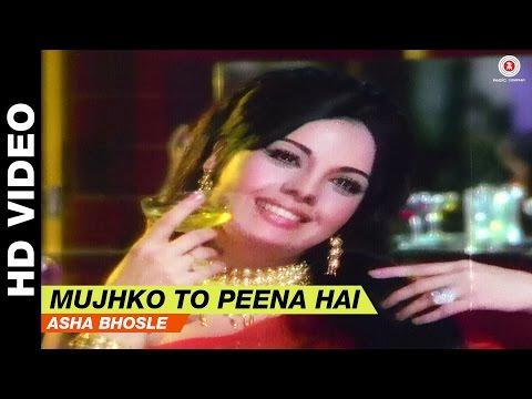 Mujhko To Peeni Hai - Upaasna | Asha Bhosle | Sanjay Khan & Mumtaz