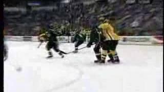 MSU Hockey Bryan Lerg Breakaway Goal