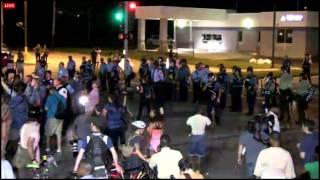 Revolutionary Communist Party incites riots at Ferguson August 18, 2014