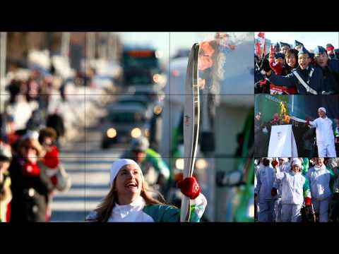 A Path of Northern Lights - The Vancouver 2010 Olympic Torch