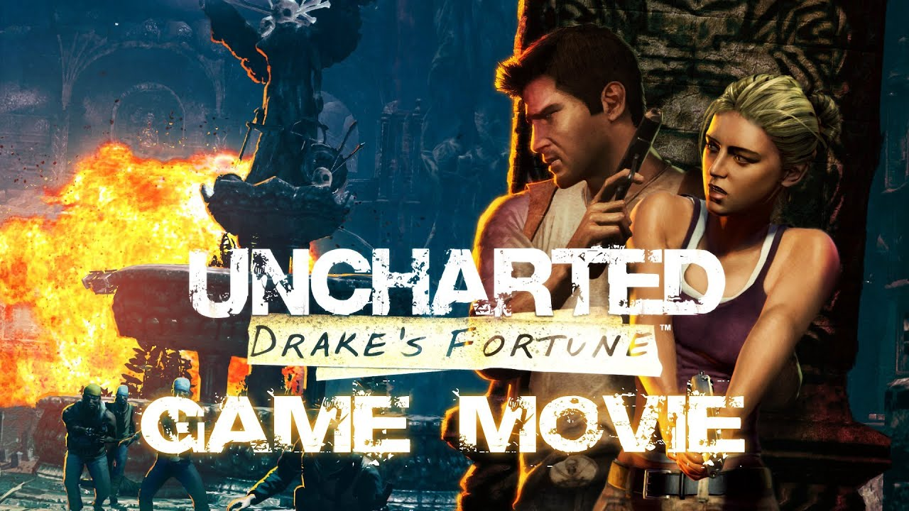 Uncharted Drake S Fortune All Cutscenes Game Movie 1080p Youtube