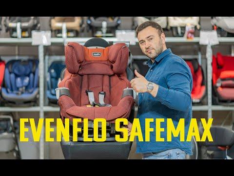 Одно из САМЫХ комфортных кресел Evenflo SafeMax – автокресло с рождения до 12 лет