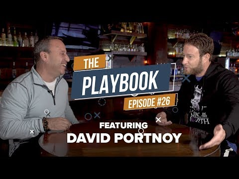 Dave Portnoy - Building Barstool Sports & Taking On The Media Giants | The Playbook #026
