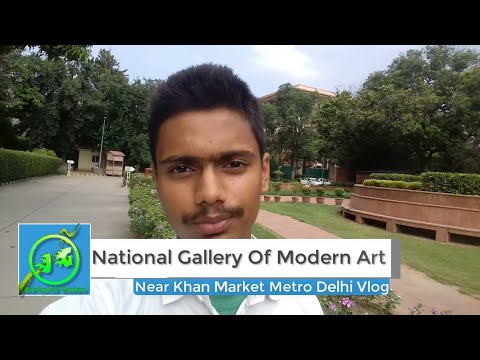 National Gallery Of Modern Art Delhi Vlog