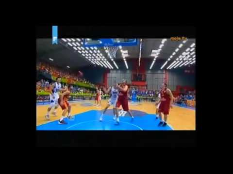 BIH-MKD 4/4 - komentator Edin Avdić - Eurobasket 2013