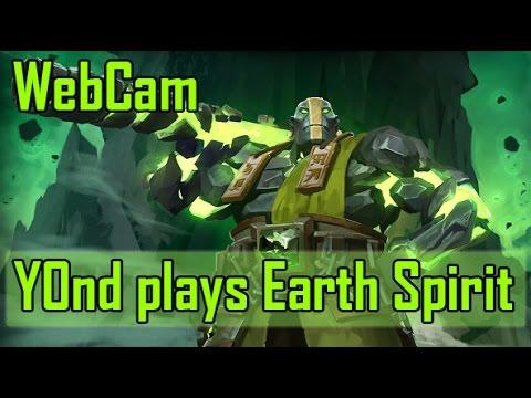 видео: Легчайшая игра #6. Изи катка на earth spirit. y0nd с вебкой.