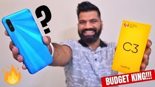 Realme C3 Unboxing & First Look - Best Budget Smartphone with Helio G70!!!