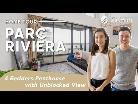 Parc Riviera Singapore Penthouse : 4 Bedroom with Unblocked View in District 5 ($1.99M , Home Tour)