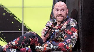 TYSON FURY SAYS DEONTAY WILDER IS GREATEST PUNCHER OF ALL TIME