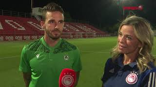 Ο Ματ Ντάρμπισιρ στο Olympiacos TV! / Matt Derbyshire on Olympiacos TV!