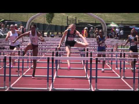 TWU Spartans Track & Field Highlights - 2015 NCCAA Championships
