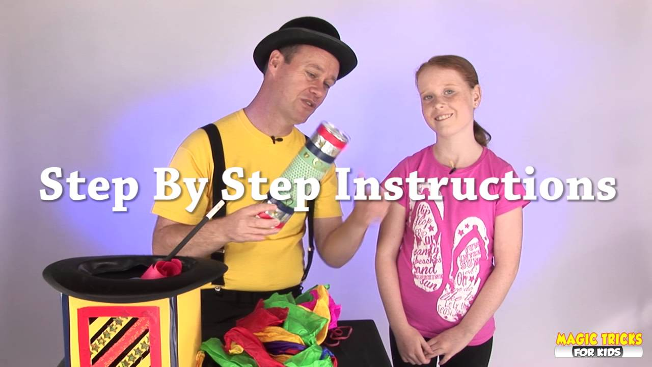 Abracadabra Fun Magic Tricks For Kids - Book Now Available
