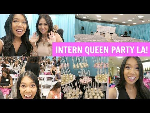Intern Queen Party LA! Internship Panels, Advice, Swag & MORE!