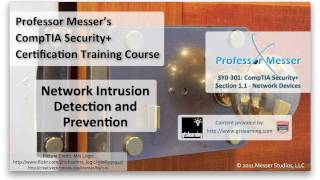 Network Intrusion Detection and Prevention - CompTIA Security+ SY0-301: 1.1
