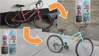 How to Paint a Bike Frame