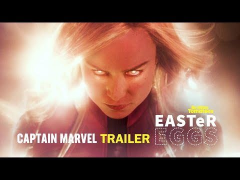 Captain Marvel Easter Eggs & Fun Facts  Rotten Tomatoes