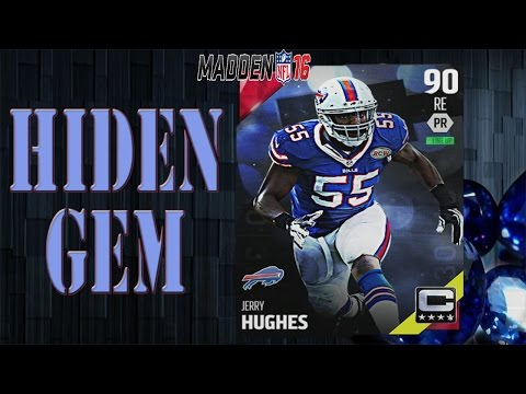 The Hidden Gem Jerry Hughes | Madden 16 Ultimate Team Gameplay | MUT 16
