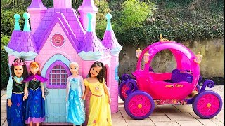Princess Castle and Carriage Ride on Compilation Series