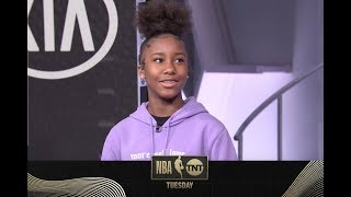 "Jalaiah Harmon, the creator of ""The Renegade"" dance, drops by Studio J 