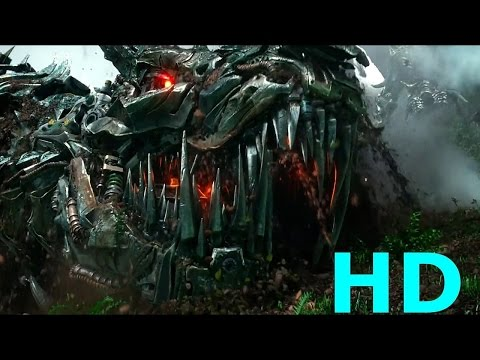 Optimus Prime Vs. Grimlock & Dinobots Vs. Decepticons - Transformers: Age Of Extinction Blu-ray HD