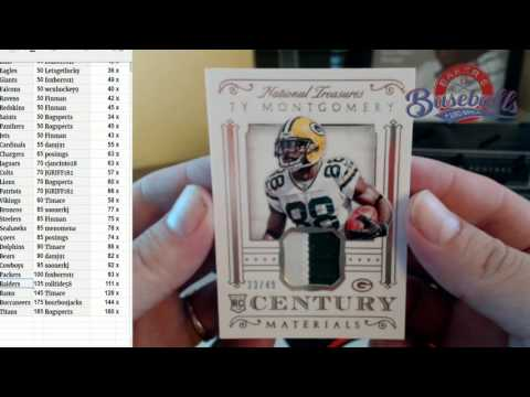 2015-16 National Treasures FB PYT Auction #2 Full Case