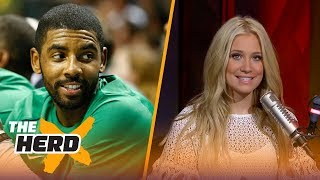 Cavs to show video tribute to Kyrie prior to season opener-Kristine and Colin react   THE HERD