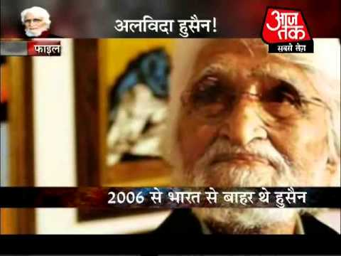 Legendary painter MF Hussain dead