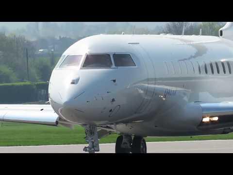 Encore: Qatar Executive Bombardier BD-700 Global 5000 A7-CEE close-up
