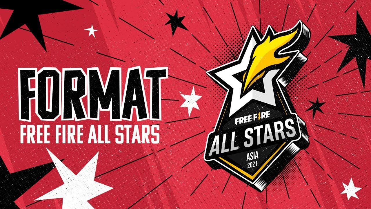 Thể thức thi đấu tại Free Fire All Stars 2021