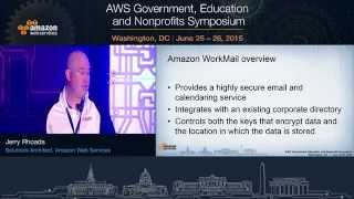 Amazon Directory Services, Amazon WorkSpaces, Amazon WorkMail, and Amazon WorkDocs