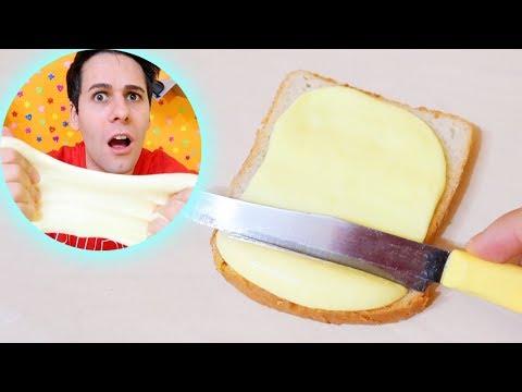 COME FARE LO SLIME DI BURRO! - Ricetta Semplice Butter Slime