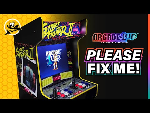 Capcom Legacy Edition - Arcade 1up PLEASE FIX ME!! from FishBee Productions