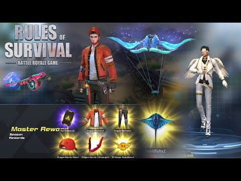 New Season 5 is Here - New Special Distinction is Insane! - Rules of Survival Update