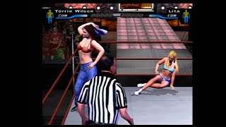 WWE Smackdown Here Comes the Pain Bra and Panties Match Tournament Alt Attire Edition