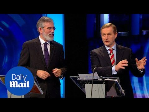 The Irish General Election Leaders Debate on RTÉ - Daily Mail