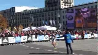 2013ベルリンマラソン7位石川末廣選手(Honda)ゴール前動画