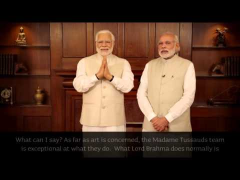 Indian Prime Minister Narendra Modi joins world leaders at Madame Tussauds