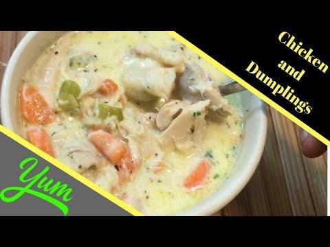 Chicken And Dumplings Recipe From Scratch |  Southern Chicken And Dumplings Tasty