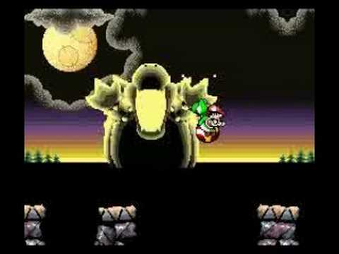 Yoshi S New Island Ds Final Boss And Ending