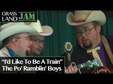 """Grassland Jam: The Po' Ramblin' Boys """"I'd Like to Be a Train"""""""