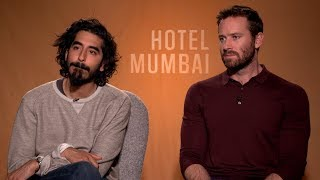 Dev Patel & Armie Hammer | Exclusive Interview for Hotel Mumbai | Showbiz India TV