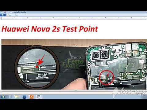Huawei Nova 2s Test Point By Gulf Gsm Team Youtube