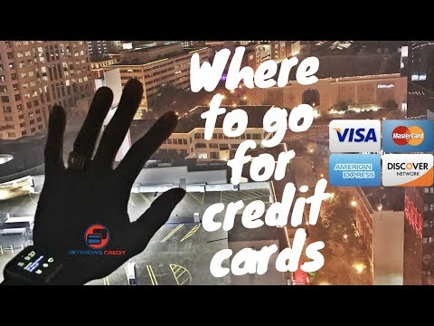 Where To Go To Get Credit Cards