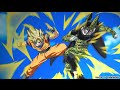 Goku vs cell Courtesy call 「AMV」
