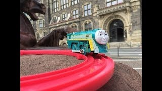 Trem de Brinquedo Tomy Thomas and Friends Connor at Neumarkt, Wuppertal, Germany 01856 pt