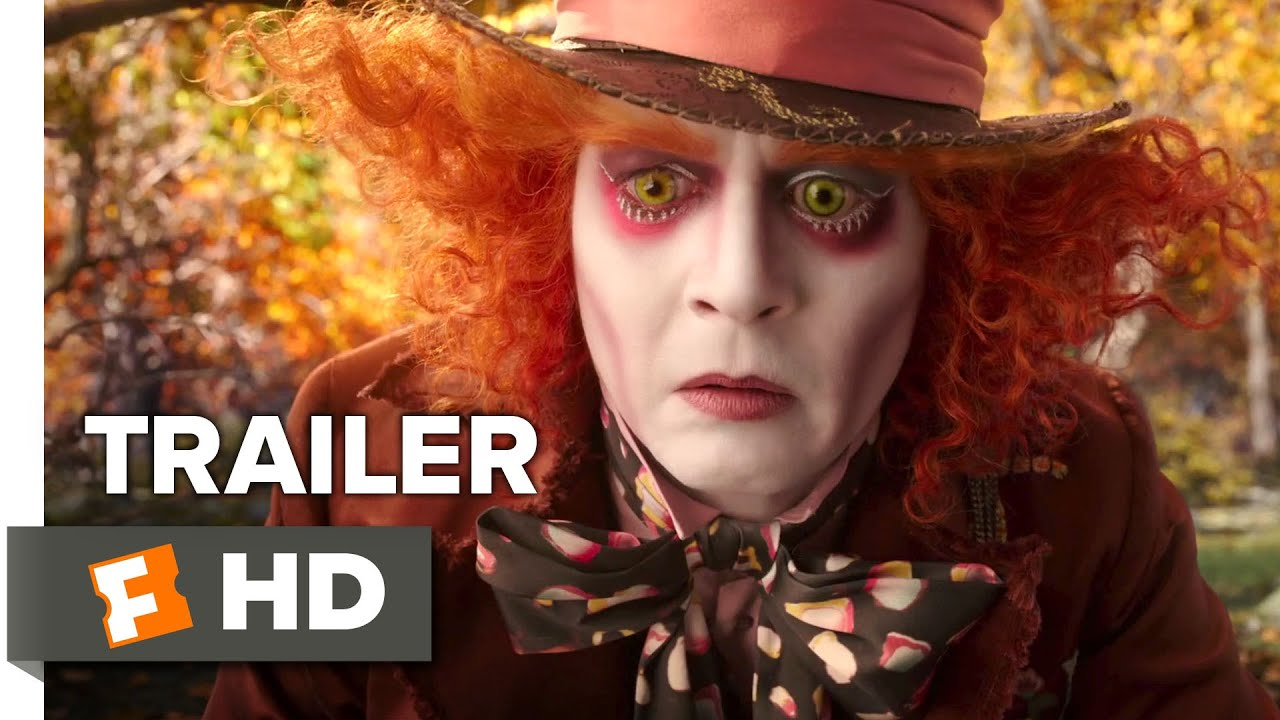 画像: Alice Through the Looking Glass Official Trailer #1 (2016) - Mia Wasikowska, Johnny Depp Fantasy HD youtu.be