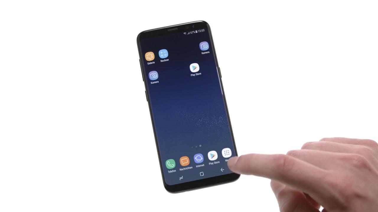 Einrichten Samsung S9